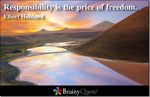 Elbert Hubbard Freedom Quote