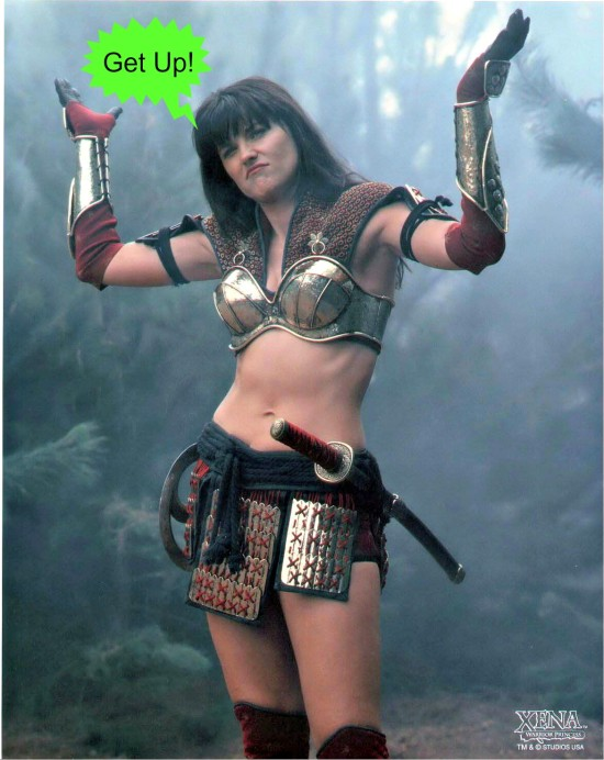 Xena Get Up